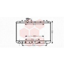 Radiateur moteur pour Suzuki SX4 version 1.6 boite automatique