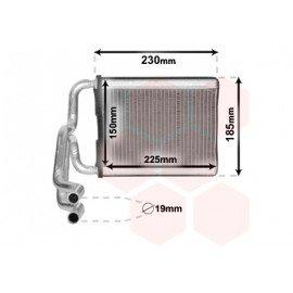 Radiateur de chauffage pour Hyundai I40 depuis 2011