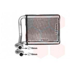 Radiateur de chauffage pour Hyundai Veloster depuis 2011 version 1.6i GDi