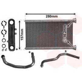 Radiateur de chauffage pour Jeep Cherokee de 2008 à 2013 version 3.7i 12V / 2.8 CRDi
