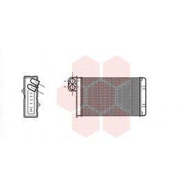 Radiateur de chauffage pour Peugeot 607