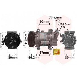 Compresseur airco pour Citroen C2