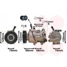 Compresseur airco pour Hyundai I40 depuis 2011 version 1.7 CRDi