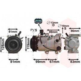 Compresseur airco pour Hyundai IX35 de avril 2010 à 2015 version 1.7 CRDi