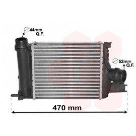 Intercooler pour Dacia Dokker depuis 2012 version 1.2i 16V / 1.5 DCi / 1.6i 8V