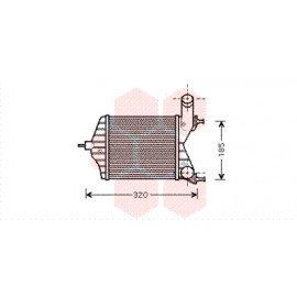 Intercooler pour Fiat Idea version 1.3 SDi