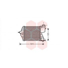 Intercooler pour Fiat Idea version 1.9 JTD