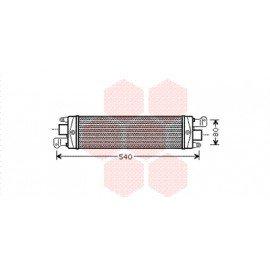 Intercooler pour Fiat Palio version 1.3 JTD