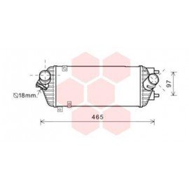 Intercooler pour Hyundai I40 depuis 2011 version 1.7 CRDi