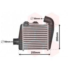 Intercooler pour Kia Cerato de 2004 à nov 2006 version 1.5TDi / 2.0TDi