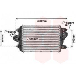 Intercooler pour Porsche 911 depuis 2012 version 991 3.8i turbo droit