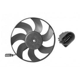 Hélice de ventilateur avec moteur, coté droit pour Audi A1 de 2010 à 2014 version 1.4 136Kw / 2.0TDi