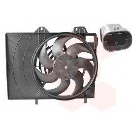 Hélice de ventilateur avec moteur pour Citroen C2 version 140W 2pins 380mm