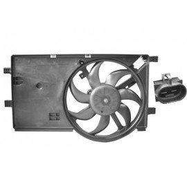 Hélice de ventilateur avec moteur pour Citroen Nemo depuis 2008 version 300W avec clim