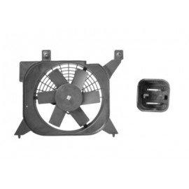 Hélice de ventilateur avec moteur pour Citroen Saxo version essence euro4 sans clim