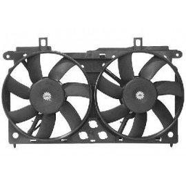 Ventilateur double pour Citroen Saxo version climatisée