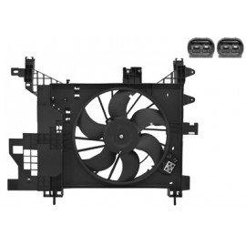 Hélice de ventilateur avec moteur pour Dacia Duster depuis 2010 version 1.5 DCi 4x2