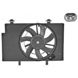 Hélice de ventilateur avec moteur pour Ford B-Max depuis oct 2012 version 1.5 / 1.6TDCi sans clim
