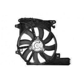 Hélice de ventilateur avec moteur et cadre pour Opel Meriva A d'avant 2010 version 1.3CDTi / 1.7CDTi