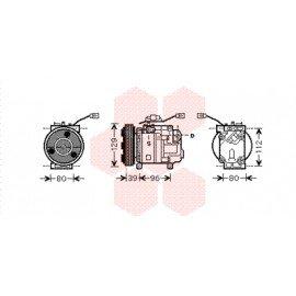 Compresseur airco pour Mazda Demio version 1.3i 16V / 1.5i 16V