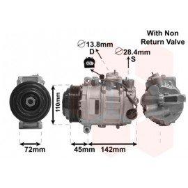 Compresseur airco pour Mercedes CL C216 de 2010 à déc 2013 version CL 63 AMG 5.5i