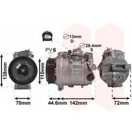 Compresseur airco pour Mercedes CLS C219 63 AMG de 2004 à 2010