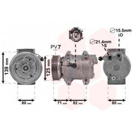 Compresseur airco pour Nissan Cabstar depuis sept 2006 version 3.0 TDi