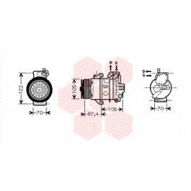 Compresseur airco pour Smart Forfour verison 1.5 Type Brabus