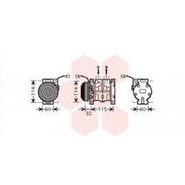 Compresseur airco pour Suzuki Liana version 1.3 / 1.6