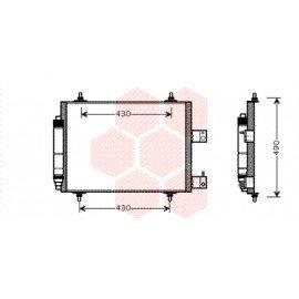 Condenseur pour Citroen C8 version 2.0i / 2.2i