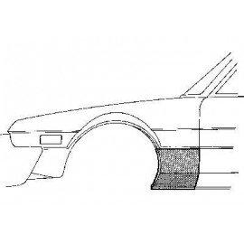 Partie basse d'aile avant gauche pour FIat X1/9 de 1973 à 1986