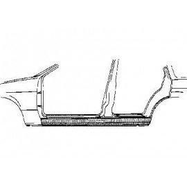Bas de caisse droit pour Nissan Bluebird de 1979 à 1983 version 4 portes