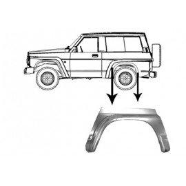 Passage de roue aile arrière gauche pour Nissan Patrol Y60 de 1987 à 1997