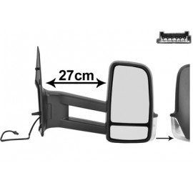 Rétroviseur électrique chauffant droit, bras long, pour Volkswagen Crafter depuis 2009