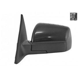Rétroviseur électrique chauffant gauche complet couleur noire pour Kia Soul de jan 2009 à sept 2011