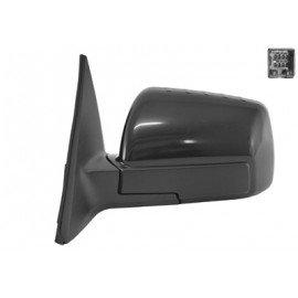 Rétroviseur rabattable et réglable électriquement gauche complet couleur noire pour Kia Soul de jan 2009 à sept 2011