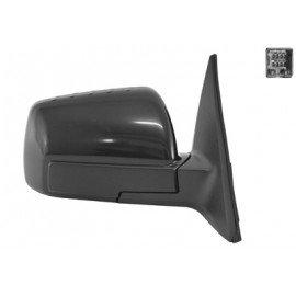 Rétroviseur rabattable et réglable électriquement droit complet couleur noire pour Kia Soul de jan 2009 à sept 2011