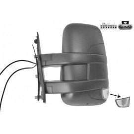 Rétroviseur électrique gauche bras court, chauffant, pour Iveco Daily de 2010 à 2014
