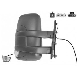 Rétroviseur électrique droit bras court, chauffant, pour Iveco Daily de 2010 à 2014