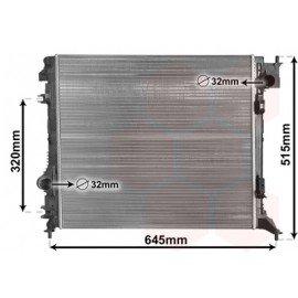 Radiateur moteur de Nissan Qashqai d'après fév 2014 version essence 1.2 DIG-T boite manuelle