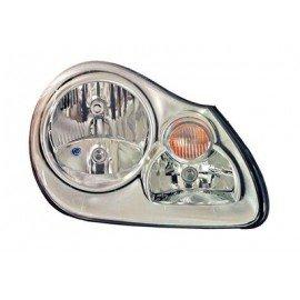 Phare gauche H7+H7 avec moteur électrique marque Valeo pour Porsche Cayenne de 2003 à 2006