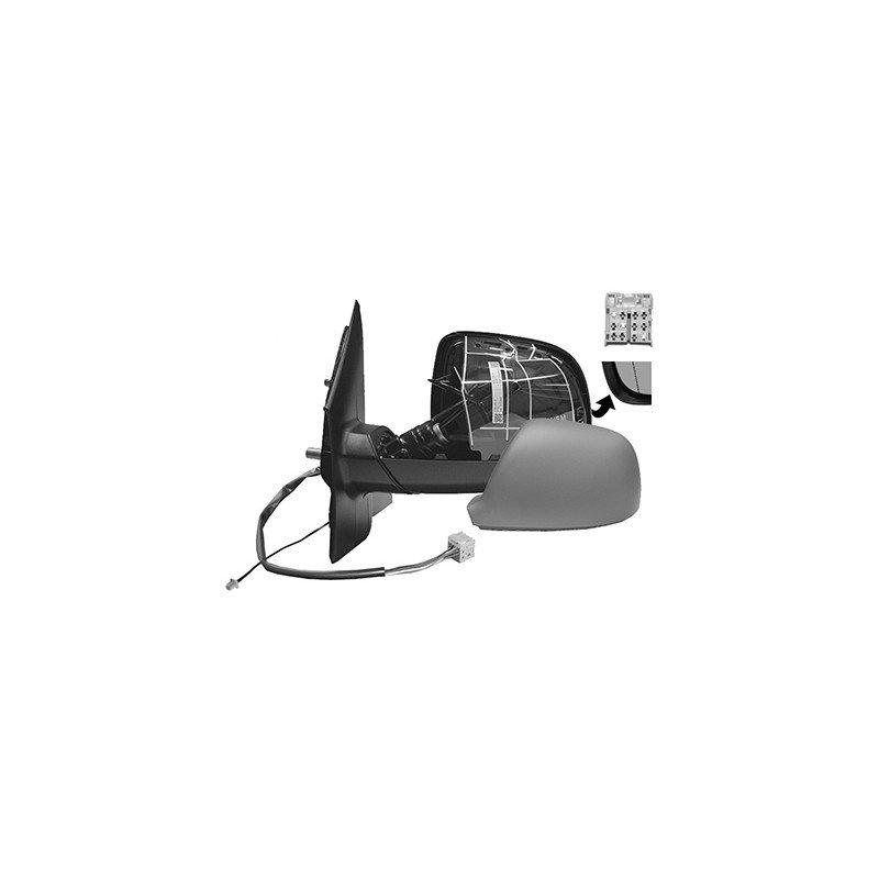 r troviseur lectrique gauche chauffant rabattable lectriquement en primer avec antenne. Black Bedroom Furniture Sets. Home Design Ideas