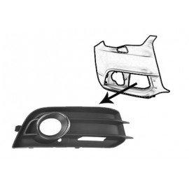Grille de prise d'air inférieure droite avec trou pour anti-brouillard pour Audi A1 de 2010 à 2014