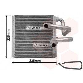 Radiateur de chauffage pour Nissan Murano Z51 depuis 2008