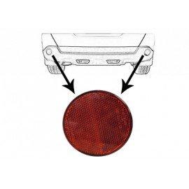 Reflecteur rond dans pare-chocs arrière pour Nissan Juke d'après juil 2014