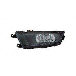 Feu anti-brouillard gauche H8 couleur noir pour Skoda Rapid d'après 2013
