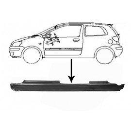 Bas de caisse coté gauche pour Hyundai Getz d'avant sept 2005 version 4 portes