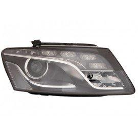 Phare avant droit Xenon D3S + LED pour Audi Q5 de oct 2009 à sept 2012