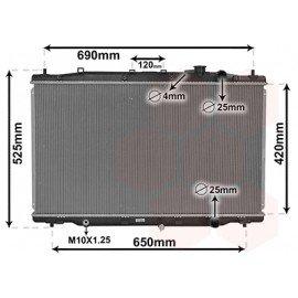 Radiateur moteur disesel pour Honda CRV de 2012 à 2015 version 1.6i DTEC