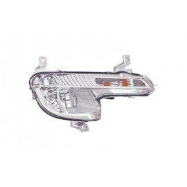 Feu anti-brouillard droit H8 pour Peugeot 508 de avril 2011 à juin 2014